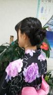 浴衣着付けとヘアセット¥3900