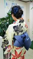 浴衣着付け+ヘアセット ¥3900