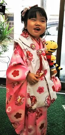 三歳のお姫様|美容室 ゆふーのヘアスタイル