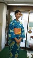 ゆかた着付けとヘアセット¥3900