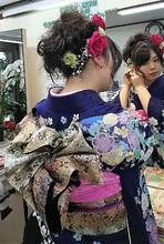 ふわふわやさしいアップスタイル|美容室 ゆふーのヘアスタイル