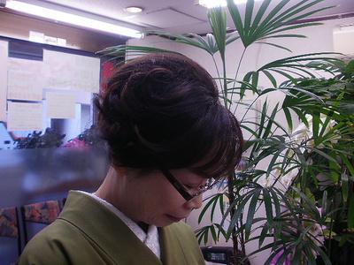 シンプルアップ|美容室 ゆふーのヘアスタイル