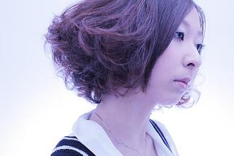 ボリュームアップウエーブ|Yutaka Hair 本店のヘアスタイル