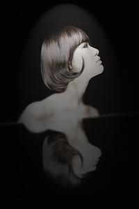 羽田 喜一の鏡を使った作品の最終章